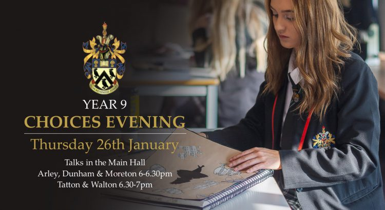 Year 9 Options Banner 1
