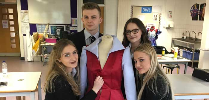 Four Fashion Students Receive Offers From The Prestigious London College Of Fashion Lymm High School