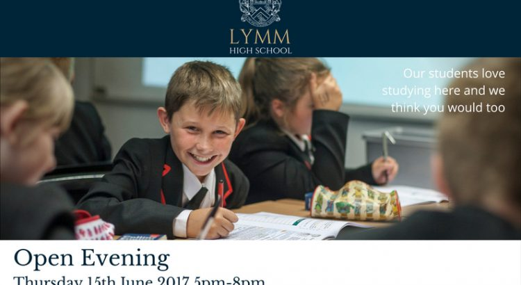 Open Evening Ad - June 2017